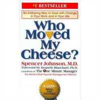 谁动了我的奶酪 英文原版WhoMovedMyCheese?:AnAmazingWaytoDealwithChangeinYourWorkandinYourLife