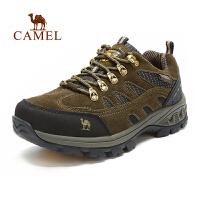 camel骆驼男鞋 户外登山鞋徒步鞋 低帮运动鞋男款 秋季款防滑