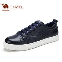camel骆驼男鞋板鞋 男 休闲男皮鞋时尚滑板男鞋