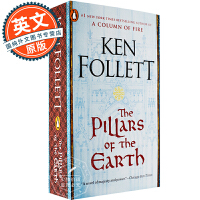 圣殿春秋 英文原版 The Pillars of the Earth 巨人的陨落作者肯福莱特著 Ken Follett