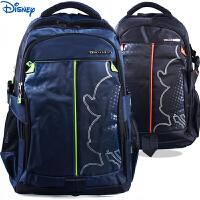 迪士尼米奇小学高年级大容量书包男4年级至初中双肩书包减负休闲背包