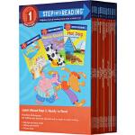 英文原版 Step into Reading Step 1 美国兰登分级读物第一阶段15册 套装A