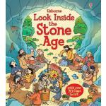 【中商原版】厄斯本看真点:石器时代 英文原版 Look Inside the Stone Age 儿童纸板书 Abig