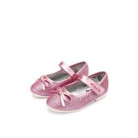 【159元任选2双】迪士尼童鞋女童秋季公主鞋时尚亮片单鞋小童中童 S79803