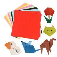 彩色光面手工纸50张 10色 手工折纸 压花机纸 幼儿园剪纸