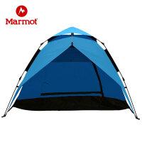 【开学季】Marmot/土拨鼠户外2-3人轻便加大四季帐蓬野外野营露营多人免搭建自动蓬账
