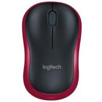 罗技(Logitech)M185 红色 无线鼠标 接收器在鼠标的电池仓里面 节电设计鼠标底部的灯不亮的,