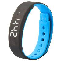 时尚智能表LED学生闹钟计步运动电子表男女孩手环手表 可礼品卡支付
