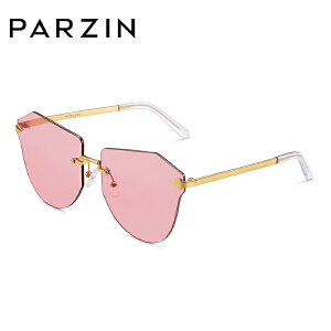 帕森太阳镜 女士时尚大框 迷幻炫彩膜多边尼龙镜片潮墨镜9791