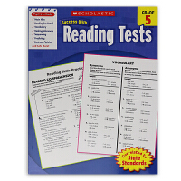 学乐成功系列 Scholastic Success with Reading Tests Grade 5 五年级 阅读