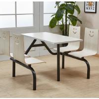 鑫宣美XM-CZY001四人位食堂餐桌椅