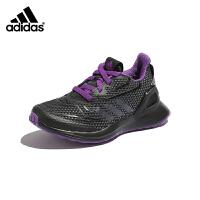 【超品价:229元】阿迪达斯adidas童鞋一脚蹬男童透气运动鞋2019秋季新款防滑中大童跑步鞋(3-15岁可选)G2
