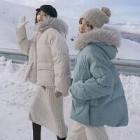 冬季孕妇大肚子棉衣孕后期a字矮个子孕妇装秋冬款外套