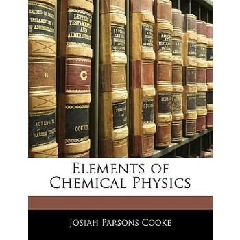 【预订】Elements of Chemical Physics 预订商品,需要1-3个月发货,非质量问题不接受退换货。