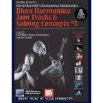 预订 Blues Harmonica Jam Tracks & Soloing Concepts #3 [ISBN:9