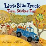 预订 Little Blue Truck Farm Sticker Fun! [ISBN:9780544066878]