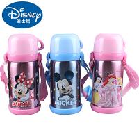 迪士尼保温杯儿童保温杯女可爱学生保温瓶男不锈钢水壶水杯子