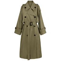 矮个子冬装妮子外套西装领小个子毛呢外套女中长款风衣焦糖色大衣小西接口新款长款风衣外套针织中长中长款