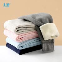 彩�� A��和�保暖�秋冬�却┠型��崮苎�中大童棉毛�磨毛加�q加厚�和�秋�