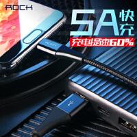 支持礼品卡 ROCK 洛克 金属编织 充电器 5A Typc C 安卓 type-c 华为 充电线 小米 VIVO 闪