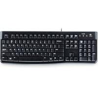 罗技(Logitech)K120 键盘 即插即用 防水溅 轻薄 集团单位公司经常采购的键盘型号