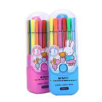 晨光FCP90145 18色可洗水彩笔 米菲18色涂鸦笔 画笔 彩笔