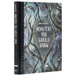 【中商原版】怪物指南(彩色插图)英文原版 Monsters You Should Know 绘本故事