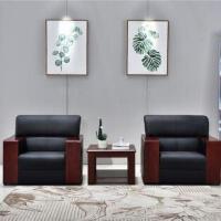 先创XC-SF1001单人位+单人位+方茶几(西皮)组合沙发