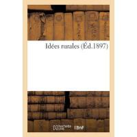 【预订】Id?es Rurales