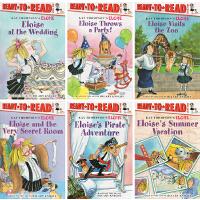 Eloise Ready to Read Value Pack #1 埃洛伊丝系列 6册合售 英文原版 儿童分级读物