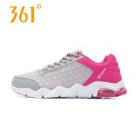 361度女鞋春季气垫减震轻便跑步鞋 夏季女休闲跑鞋