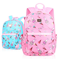书包 小学生双肩背包 儿童书包套装公主汽车包男女童书包