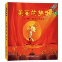 美丽的梦想精装非注音版 米歇尔 新疆青少年出版社 绘本儿童故事书宝宝睡前故事幼儿园图画书籍读物