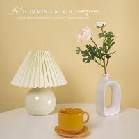vintage台灯ins复古百褶少女韩国中古网红咖啡厅装饰卧室床头灯