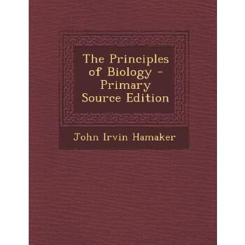 【预订】The Principles of Biology - Primary Source Edition 预订商品,需要1-3个月发货,非质量问题不接受退换货。