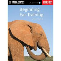 【预订】Beginning Ear Training: Ear Training: Exercises [With C