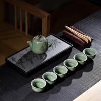 冰裂茶杯茶壶茶道茶盘泡茶套装家用套装功夫茶具陶瓷茶具整套茶具