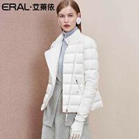 ERAL/艾莱依轻薄款羽绒服女短款2018新款立领韩版修身617102014