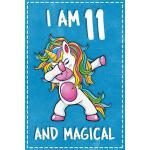 预订 Unicorn B Day: I am 11 & Magical Unicorn birthday eleven