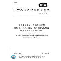 GB/T 29910.6-2013工业通信网络 现场总线规范 类型20:HART规范 第6部分:应用层附加服务定义和协