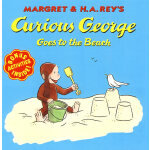 Curious George Goes to the Beach好奇猴乔治去海边 9780395978382