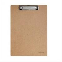 得力9226板夹 木制材料书写板夹 得力A4木制平夹 得力文具