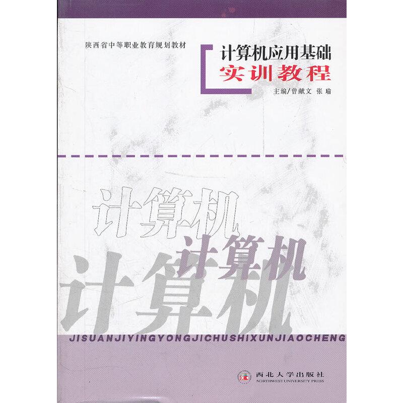 计算机应用基础实训教程(陕西省中等职业教育规划教材)