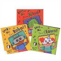 趣味面具书3本套装 Look At Me Mask Book