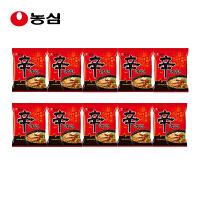 韩国进口 农心 辛拉面10连包组合