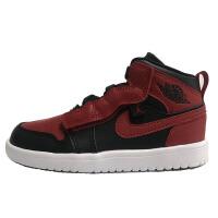耐克儿童 Air Jordan 1 Mid AJ1黑红中童男女宝宝篮球鞋 AR6351-074