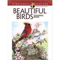 按需印刷 Creative Haven Beautiful Birds Coloring Book
