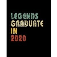 【预订】Legends graduate in 2020: Vintage Composition Notebook F