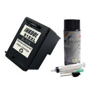 INKOOL丹瑞 玩转HP 818墨盒+90ml专业级填充墨水+工具 超值套装