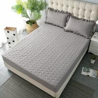 夹棉床笠加厚夹棉床套席梦思床罩保护套单件防滑床罩1.5米1.8m床